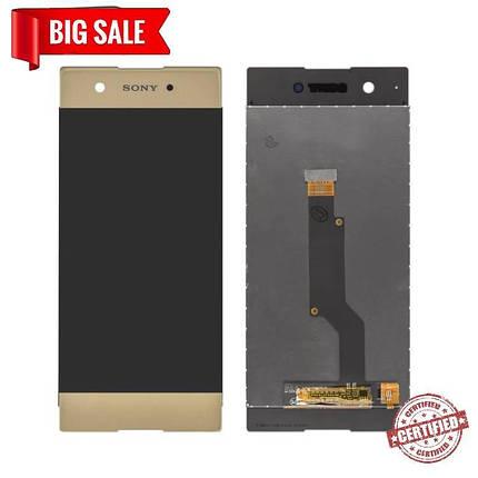 Модуль (дисплей + сенсор) Sony G3112 Xperia XA1 Dual, G3116, G3121, G3125 gold, фото 2