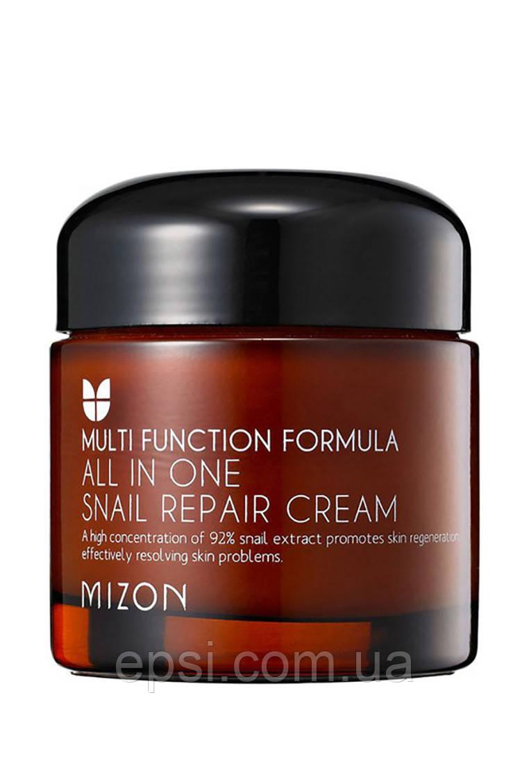 Крем регенерирующий с муцином улитки Mizon All in One Snail Repair Cream, 75 мл