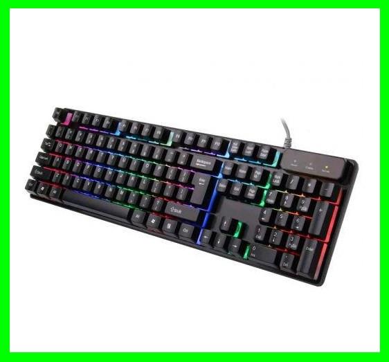 Клавиатура USB с Подсветкой - Видео Обзор