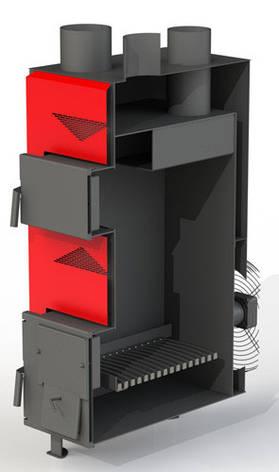 Теплогенератор твердотопливный Dragon ТТГ-РТ 25 кВт (6-2 мм) Protech, фото 2