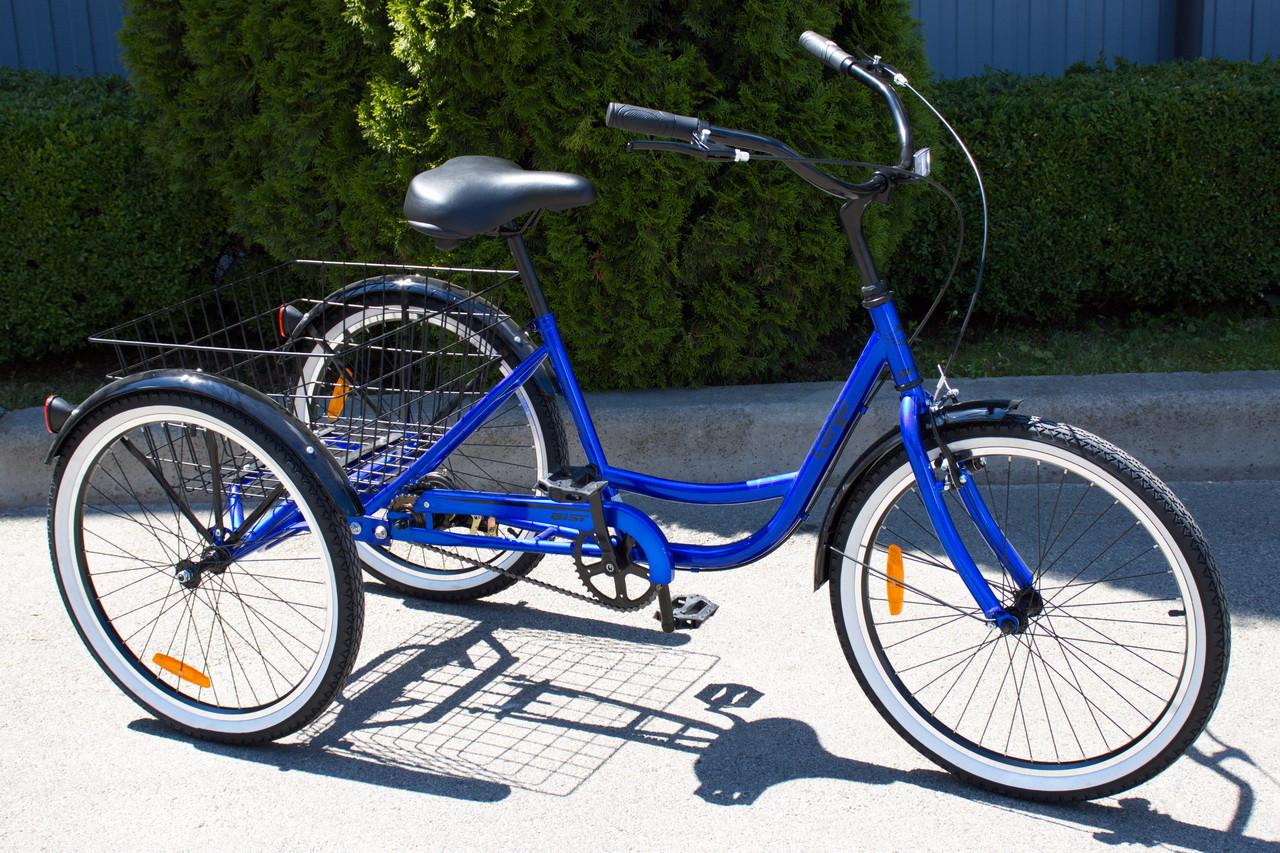"""Велосипед триколісний вантажний AIST CARGO 1.0 """"24"""