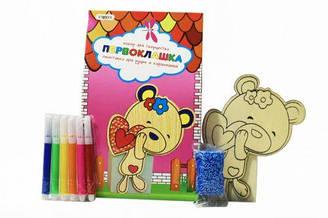 """Набор для творчества """"Подставка для ручек. Мишка"""" 8005"""