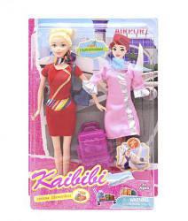 "Кукла-стюардесса ""Kaibibi"" BLD127"