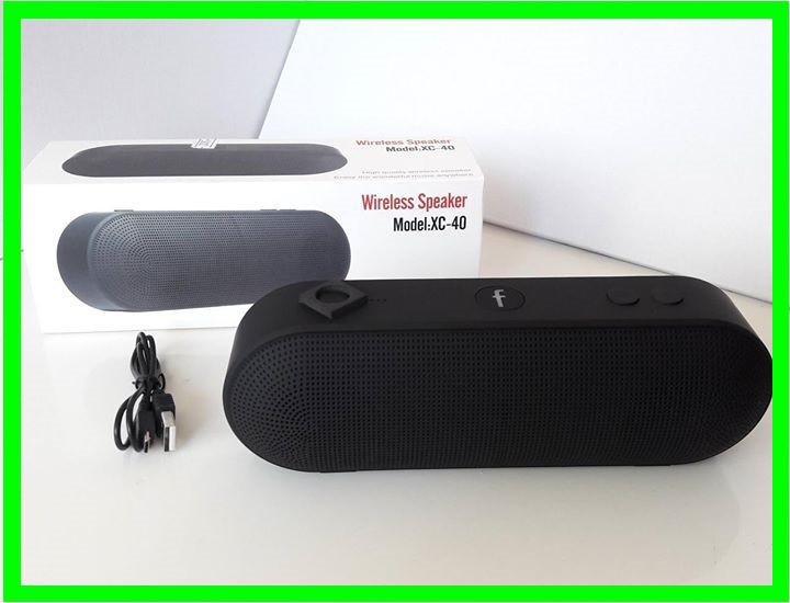 Портативная Bluetooth FM Колонка