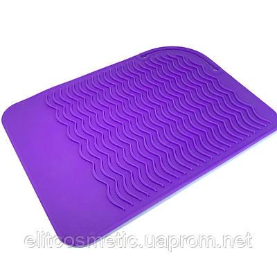 Термостойкий коврик для инструментов фиолетовый