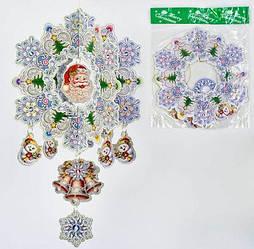 """Новогоднее украшение """"Снежинка"""" C30217"""