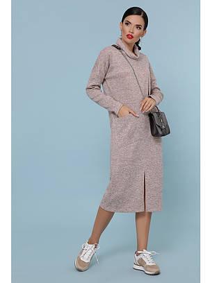 Женское ангоровое платье осень - зима, фото 2