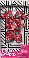 Одяг і аксесуари для ляльки Барбі Піжама Святкова - Barbie Holiday Fashion GGG49, фото 3