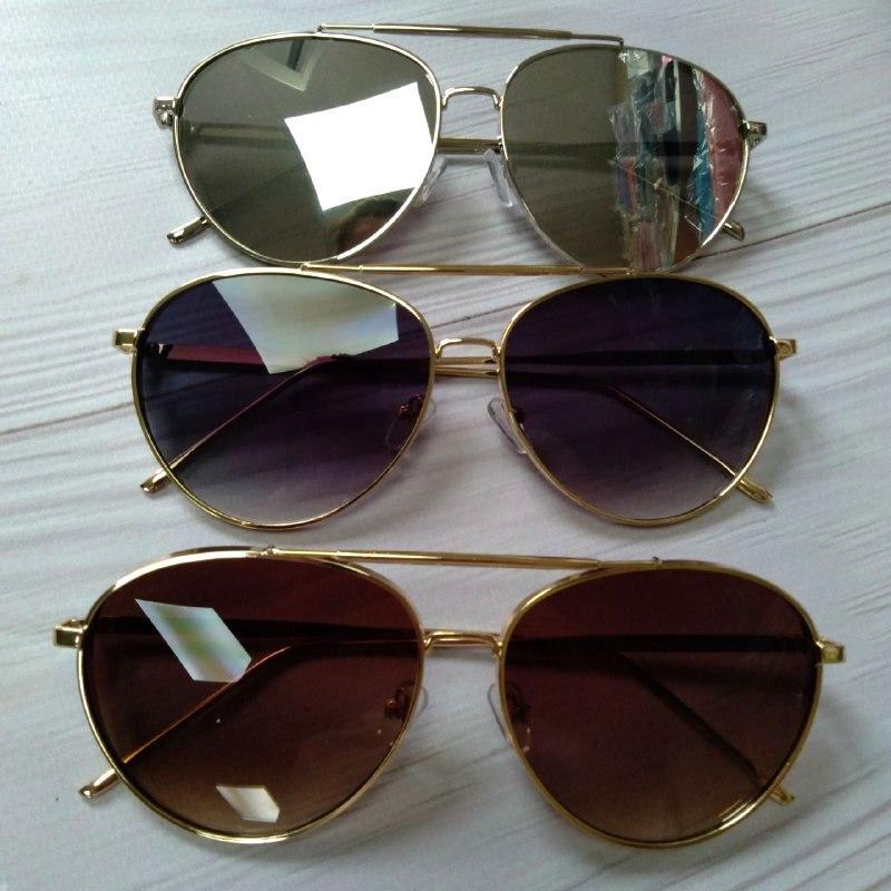 Стильные женские очки авиаторы солнцезащитные