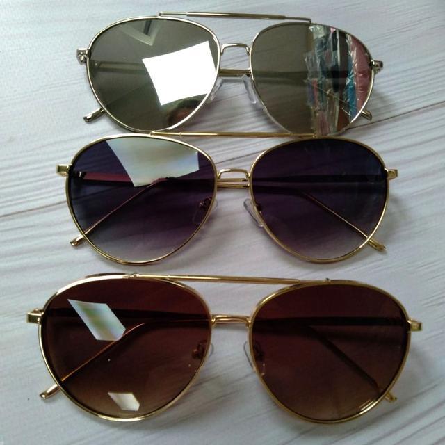 Стильні жіночі окуляри сонцезахисні авіатори