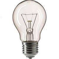 Лампа накаливания Philips E27 60W 230V A55 CL 1CT/12X10F Stan Pila
