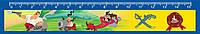 """Линейка пластиковая школьная """"Як Козаки"""", KZ01450, 15СМ - Cool For School"""