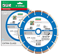 Отрезной сегментный диск (бетон, тротуар) 1A1RSS/C3-W CLASSIC 125x2,2/1,3x22,23-10-APR 32x2,2x8+2 R52,2