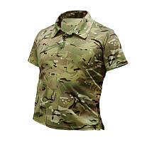 Потоотводящая футболка-Polo, Multicam. UA.