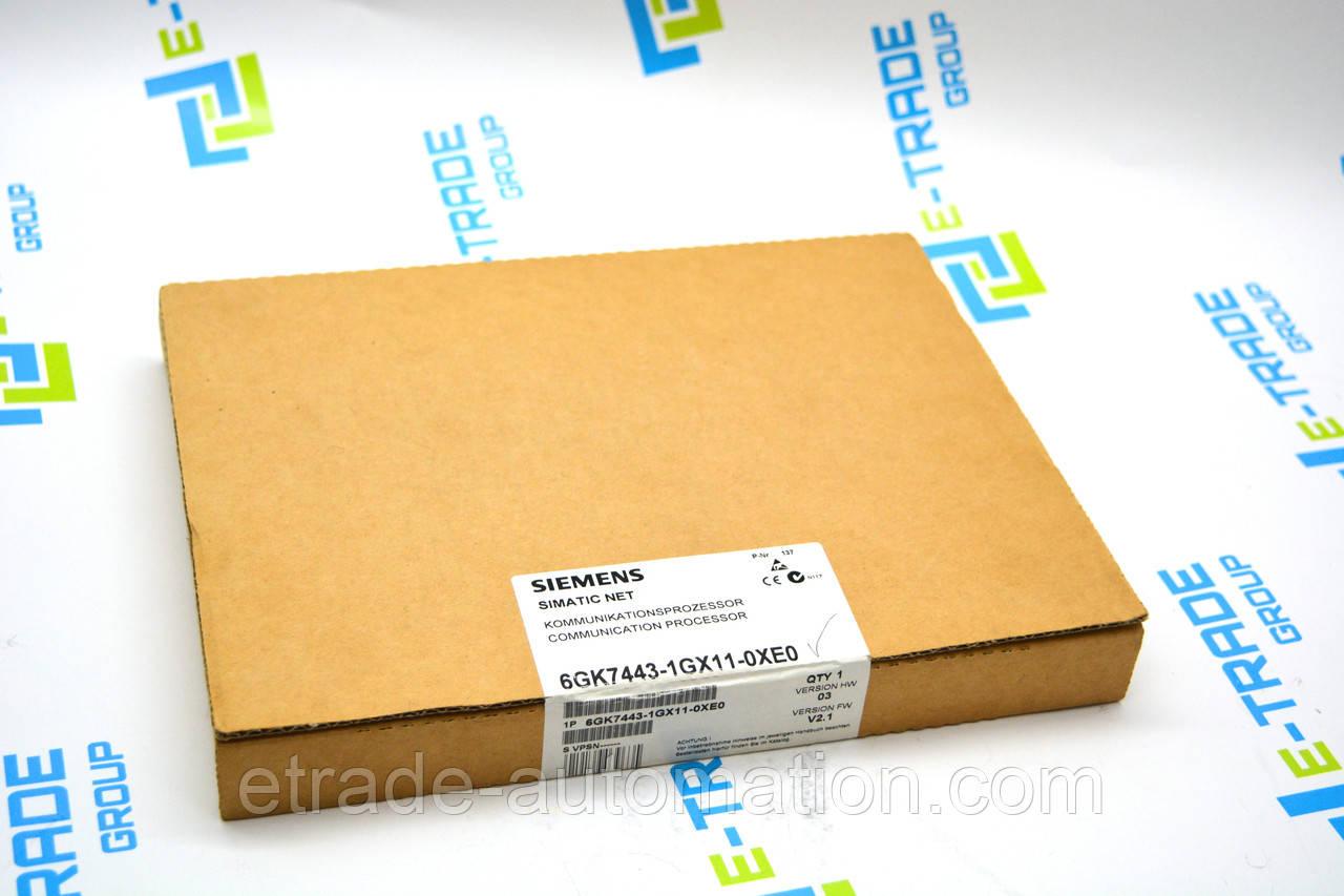 Процессор Siemens 6GK7443-1GX11-0XE0