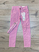 Катоновые брюки для дівчаток.(Стрейч-катон). 4 - 14 років