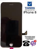 Дисплейный модуль для iPhone 8  черный tianma  (LCD экран, тачскрин, стекло) black copy