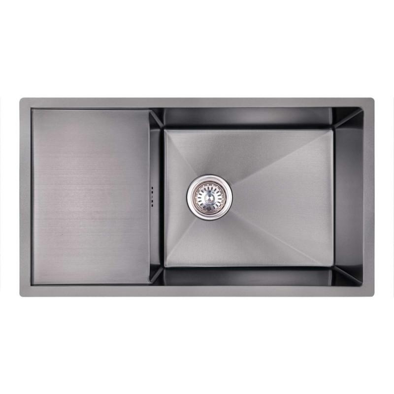 Скидка есть! Звоните. Кухонная мойка Imperial D7844BL PVD black Handmade 3.0/1.2 mm