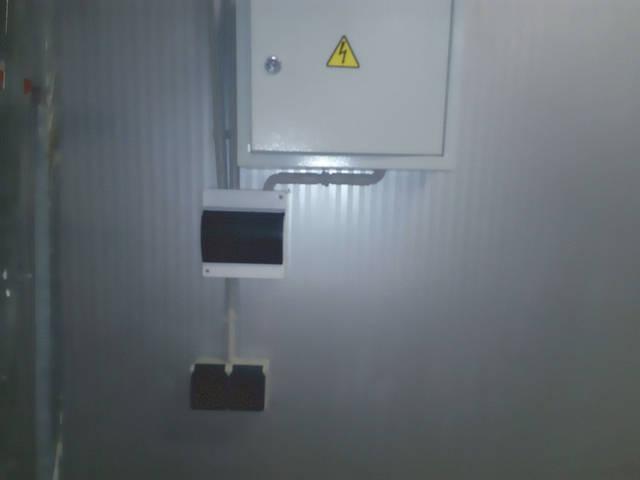 Щиток на освещение вынесен отдельно.