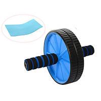 Тренажер колесо для пресса PROFI MS 0871-1 синий