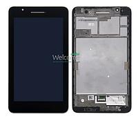 Модуль Asus Fonepad FE171CG black дисплей экран, сенсор тач скрин для планшета