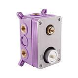Звоните. Будет дешевле. Душевая система скрытого монтажа Q-tap Inspai-Varius CRM V10260103, фото 6