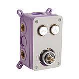 Нужно дешевле? Звоните. Душевая система скрытого монтажа Q-tap Inspai-Therm CRM T20250102, фото 4