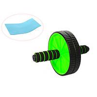 Тренажер колесо для пресса PROFI MS 0871-1 зеленый