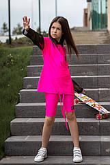 Неоновый костюм для девочек  Sh-114 тм Barbarris размеры 134, 164