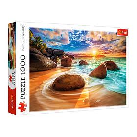 """Пазли Trefl """"Пляж Самундра"""" (Індія), 1000 елементів, 10461"""