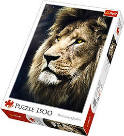 "Пазли Trefl ""Портрет льва"", 1500 елементів, 26139"