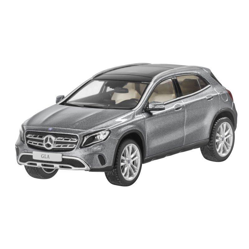 Модель автомобіля Mercedes GLA, Mountain Grey, Scale 1:43, артикул B66960542