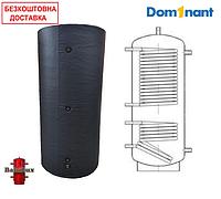 Теплоаккумулятор BakiLux АБН-2 200 литров с двумя теплообменниками с изоляцией, буферная емкость