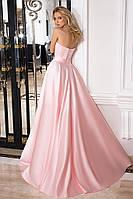 """Вечернее платье в пол розового цвета """"1010-2"""""""