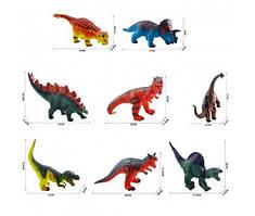 """Игрушка """"Динозавр"""", резиновый, звук, 8 видов, 8255/78"""