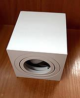 Потолочный светильник поворотный Feron ML303 MR16 GU10 точечный накладной квадратный Белый