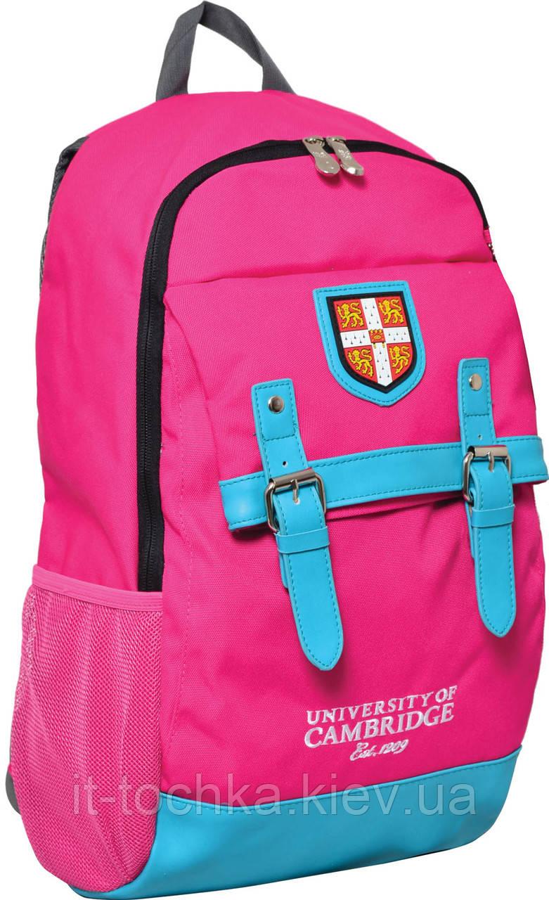 Рюкзак подростковый yes  ca064 cambridge, розовый, 29*13*48см yes 552961