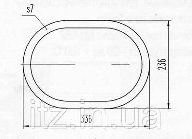 Прокладка Д218.00.03 (Д100.40.021 А)