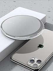 Бездротове зарядний пристрій KUULAA Qi для телефону та портативної техніки Біла