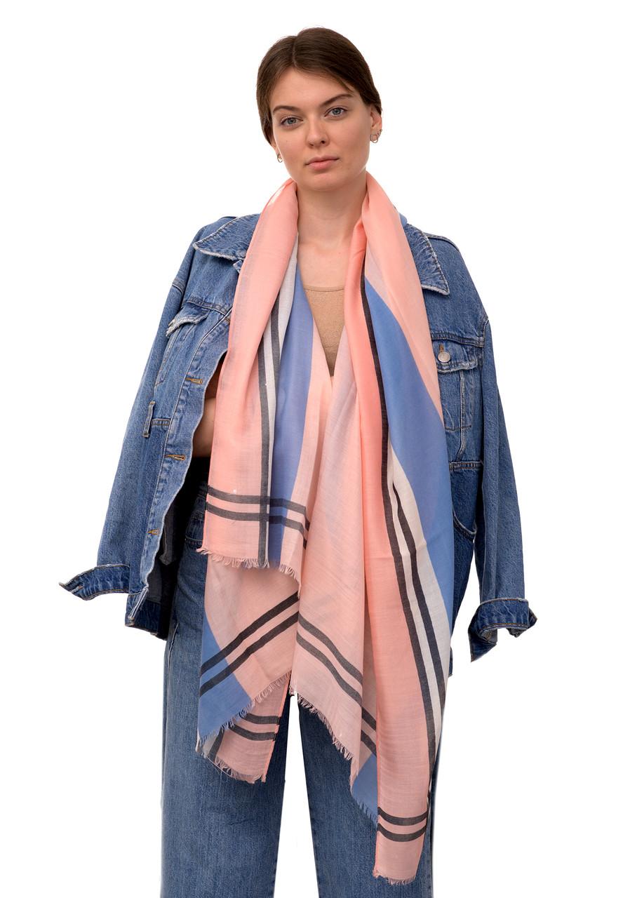 Шарф BUTEF Розмір 180*80 см Рожево-блакитний