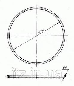 Кольцо уплотнительное Д131.00.56 (Д100.01.056)