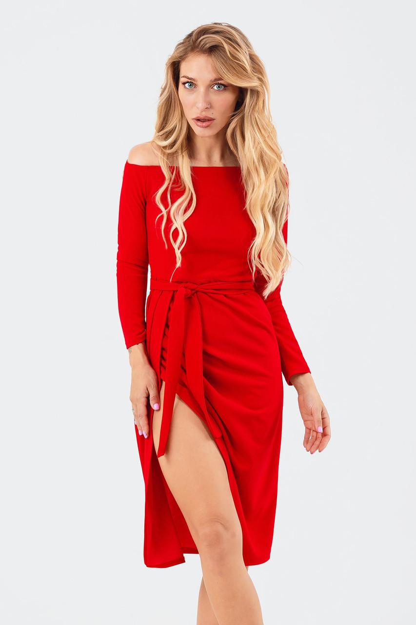 Вечірнє жіноче плаття Sharlin, червоний