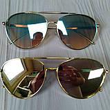 Стильные женские очки авиаторы солнцезащитные, фото 3