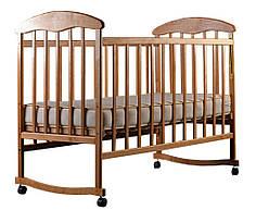 Кровать детская Наталка ясень нелакированный