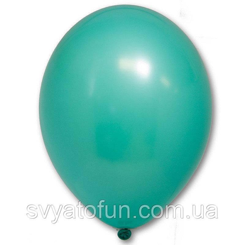 """Латексные шарики 12"""" пастель В105/005 зеленый 50шт/уп BelBal"""