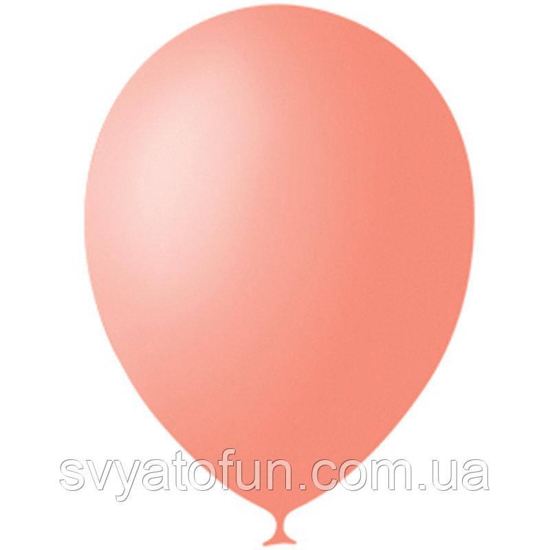 """Латексные шарики 12"""" декоратор Salmon Peach 053 (лосось) 100шт/уп Мексика"""