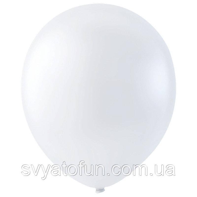 """Латексные шарики 12"""" декоратор Transparent 057 (прозрачный) 20шт/уп Мексика"""