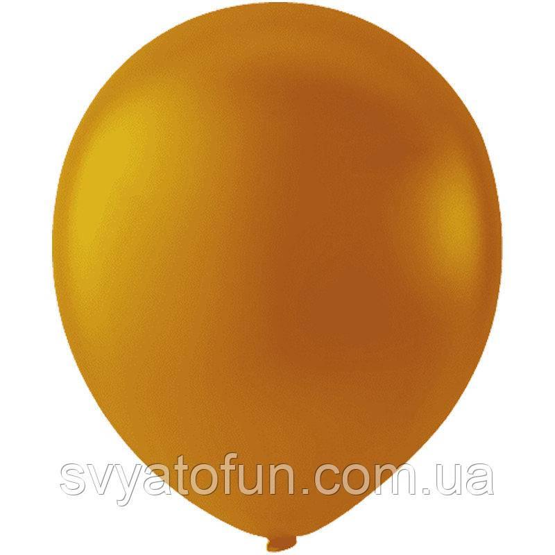 """Латексные шарики 12"""" пастель Orange (оранжевый) 100шт/уп Мексика"""