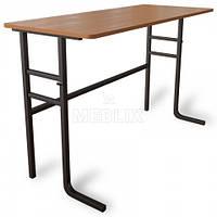 Стол аудиторный ученический двухместный, фото 1