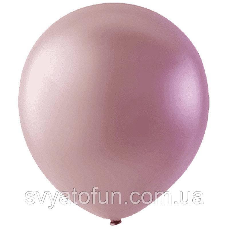 """Латексні кульки 12"""" перламутр Pink 073 (рожевий) 20шт/уп Мексика"""